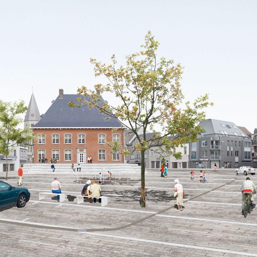 Dit wordt de nieuwe binnenstad van Torhout - Focus en WTV