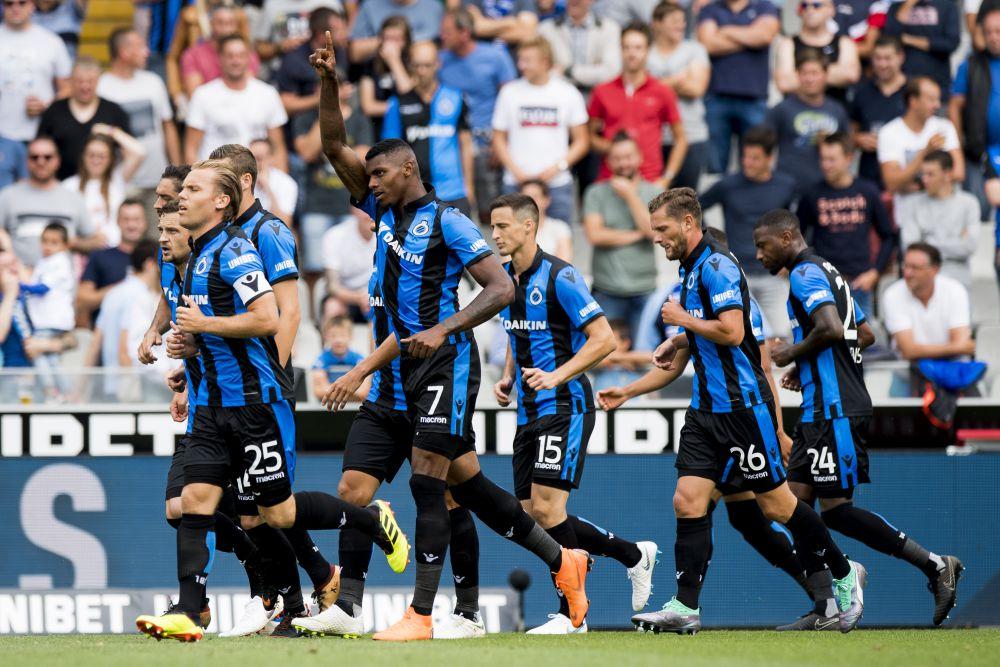 Eupen  Club Brugge Photo: Club Brugge Verplettert Eupen Met 5-2