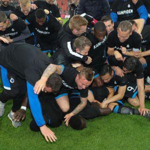 Club Brugge kampioen 2018 (Foto Belga)