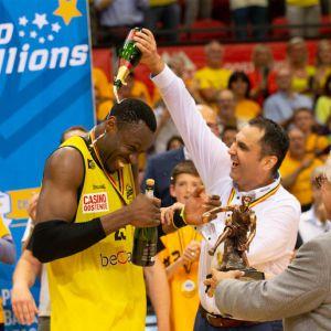 BC Oostende wordt kampioen (foto Belga)