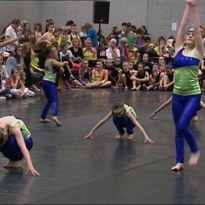 populair dansers grote kont