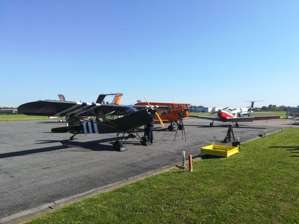 Massivt Primeur: strand Knokke-Heist even landingsbaan | Focus en WTV YC56