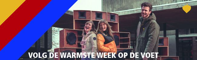 Alles over de Warmste Week in Kortrijk
