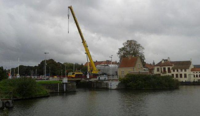 Keukens Goossens Brugge : Werken aan Boudewijnsluis in Brugge gestart Focus en WTV