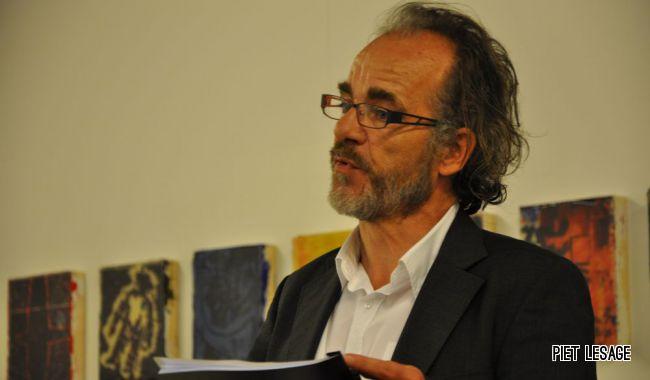 Jan Moeyaert van de vzw Kunst, organisator van het Kunstenfestival Watou.