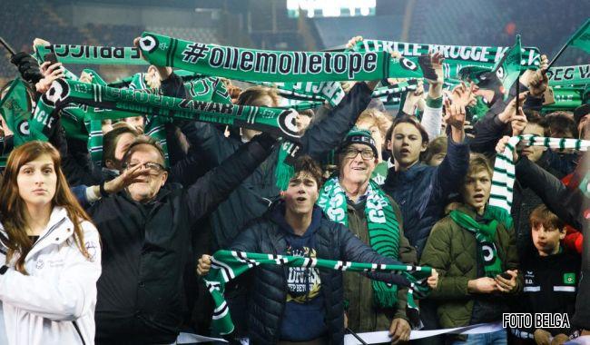 Cercle Brugge promoveert naar 1A (foto Belga)